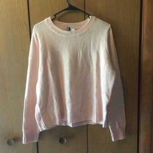 H&M Divided Pastel Pink Sweater